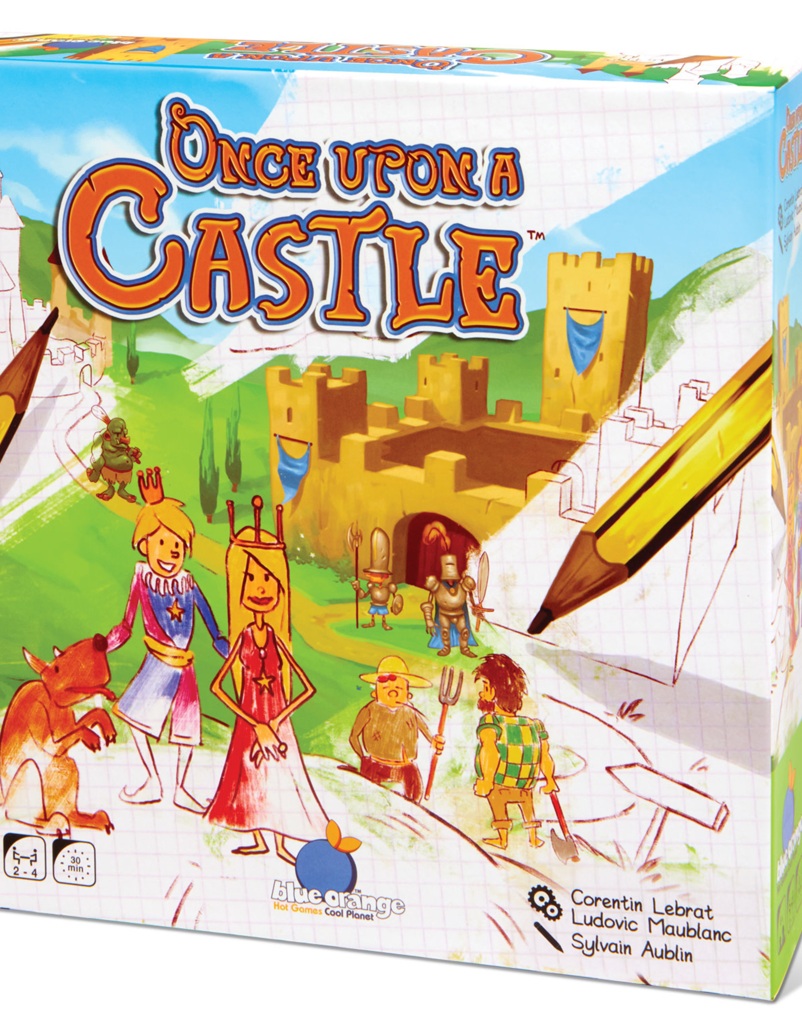 Blue Orange Once Upon a Castle Game