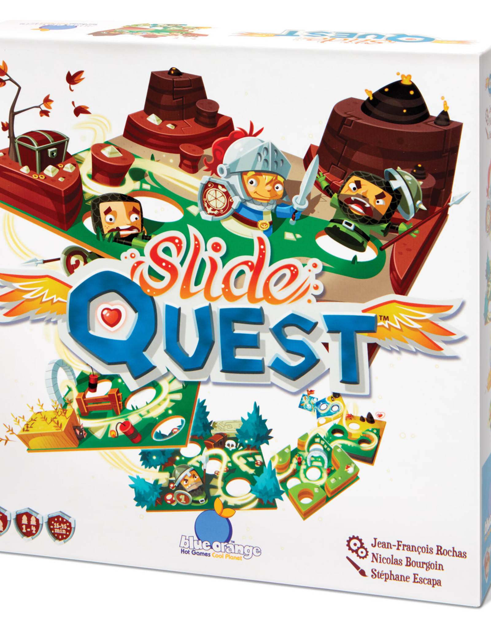 Blue Orange Slide Quest Game
