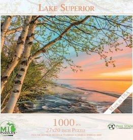 MI Puzzles 1000pc Lake Superior