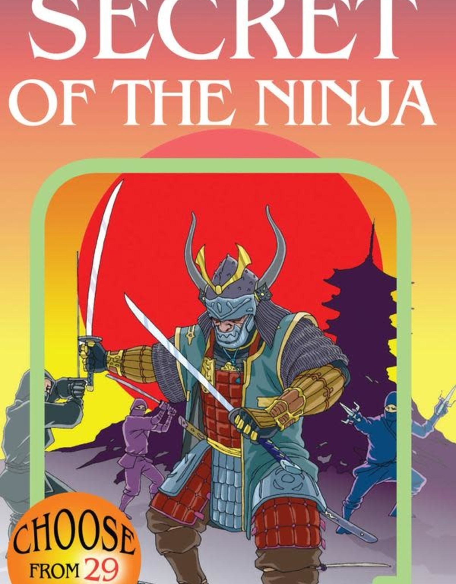 Choose Your Own Adventure CYOA Secret of the Ninja