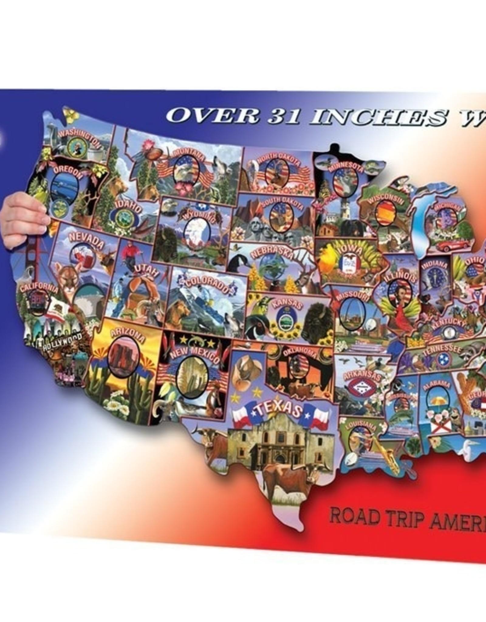 WE Games 1000pc Road Trip America