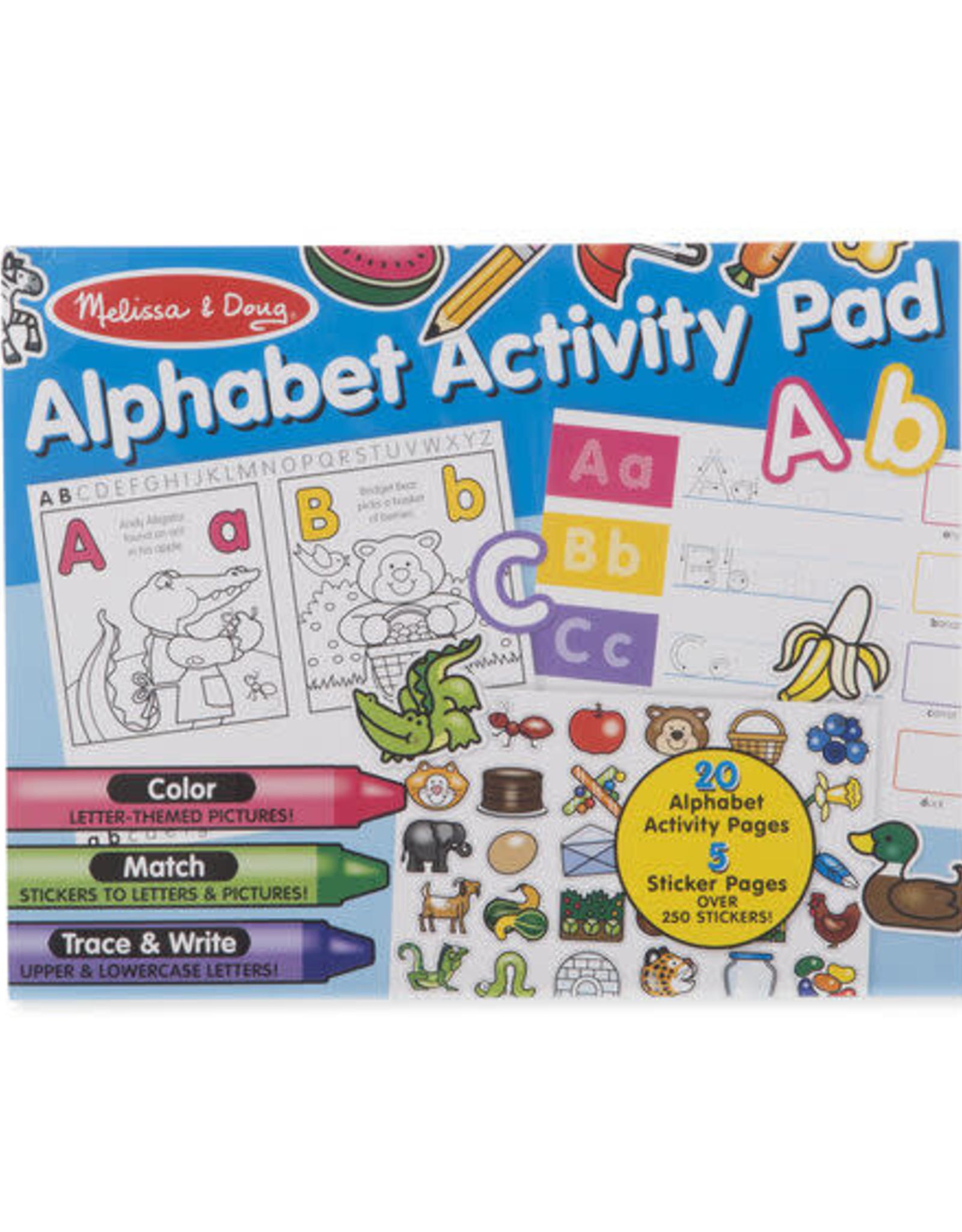 Melissa & Doug MD Activity Pad Alphabet
