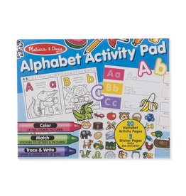 Melissa & Doug MD Activity Pad Alphabet