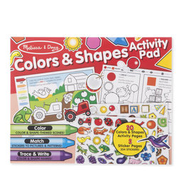 Melissa & Doug MD Activity Pad Colors & Shapes