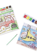 Melissa & Doug MD Paint With Water Vehicles
