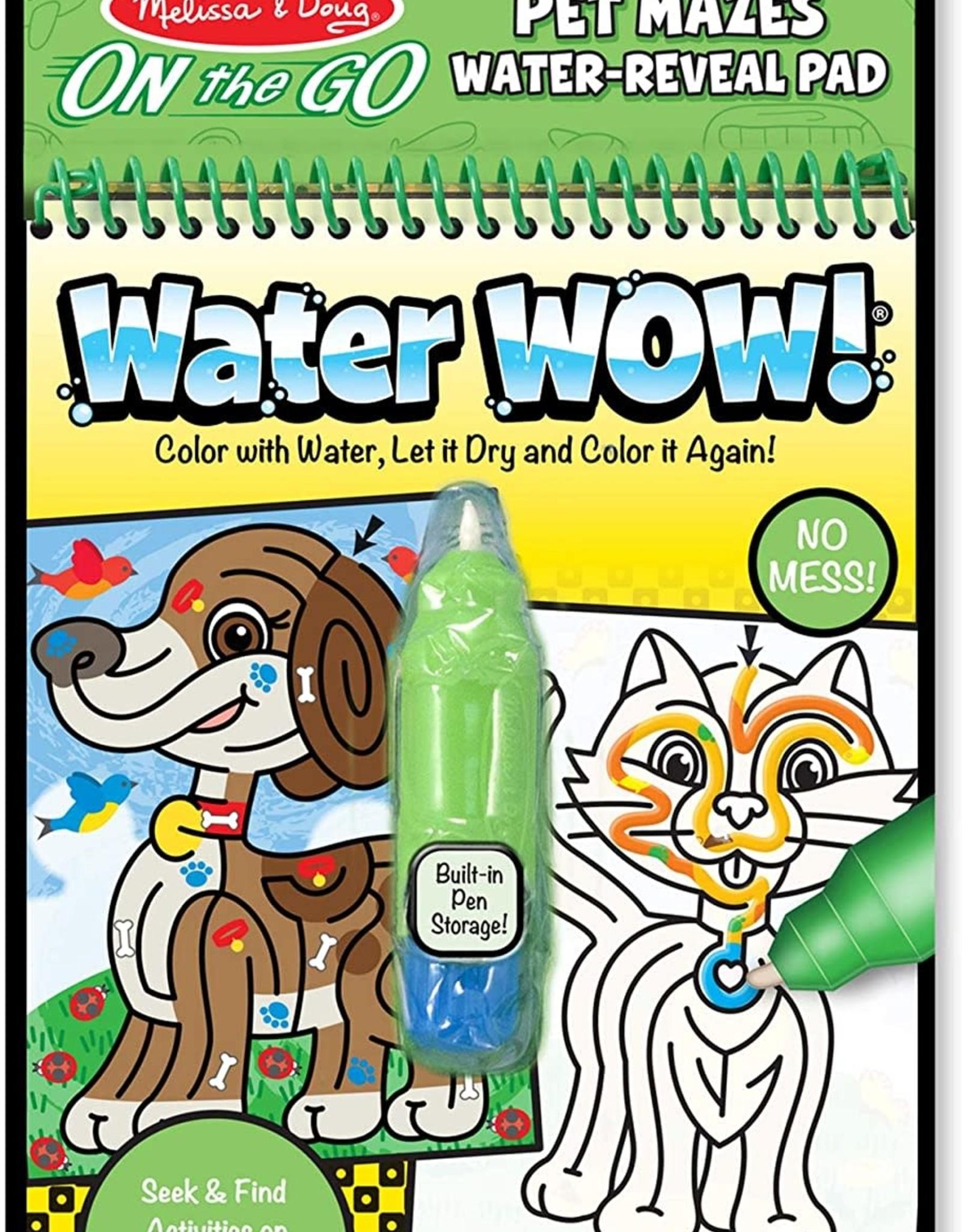 Melissa & Doug MD Water WOW Pet Mazes