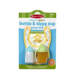 Melissa & Doug MD Play Set Doll Bottle & Sippy Cup