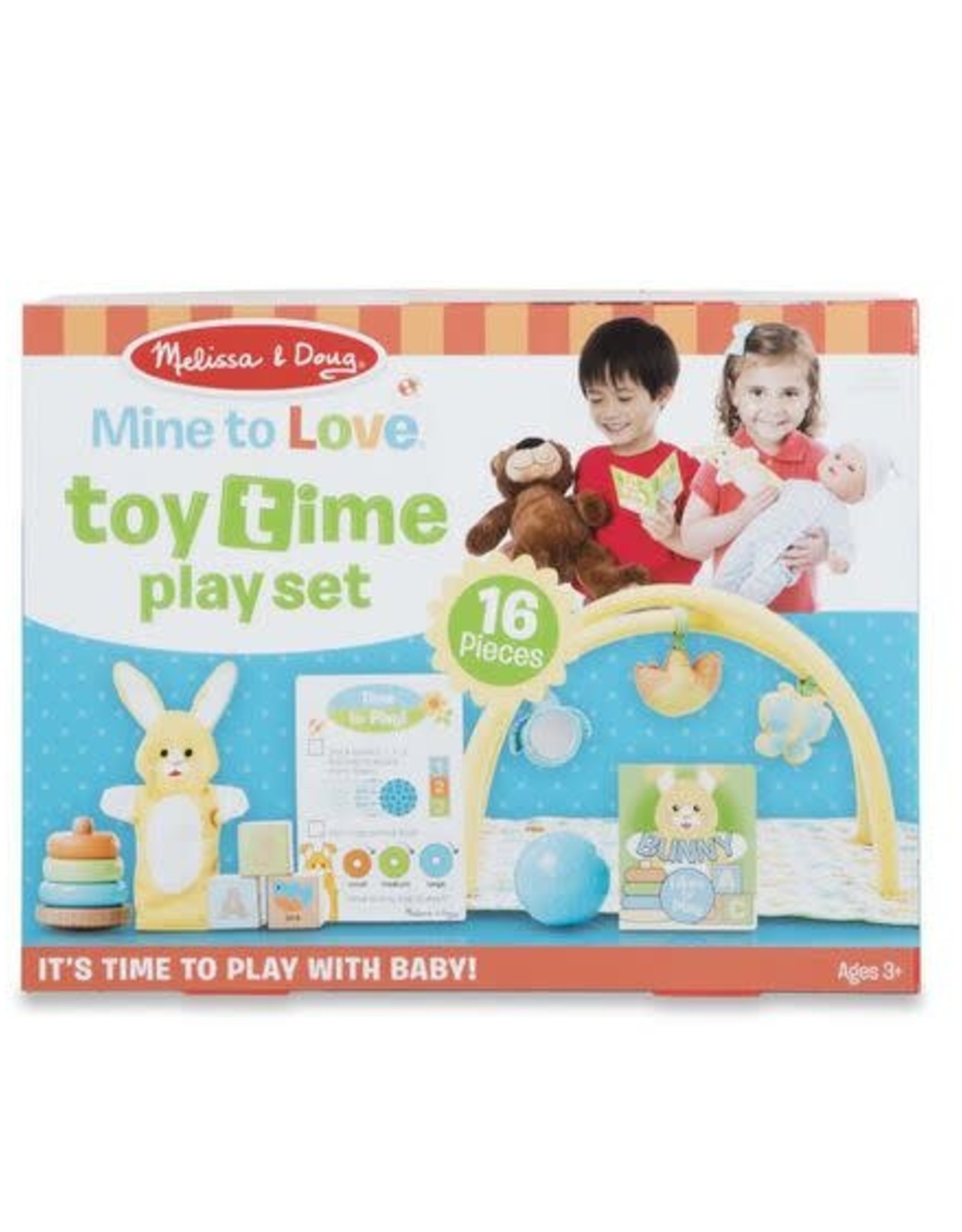 Melissa & Doug MD Play Set Doll Toy Time