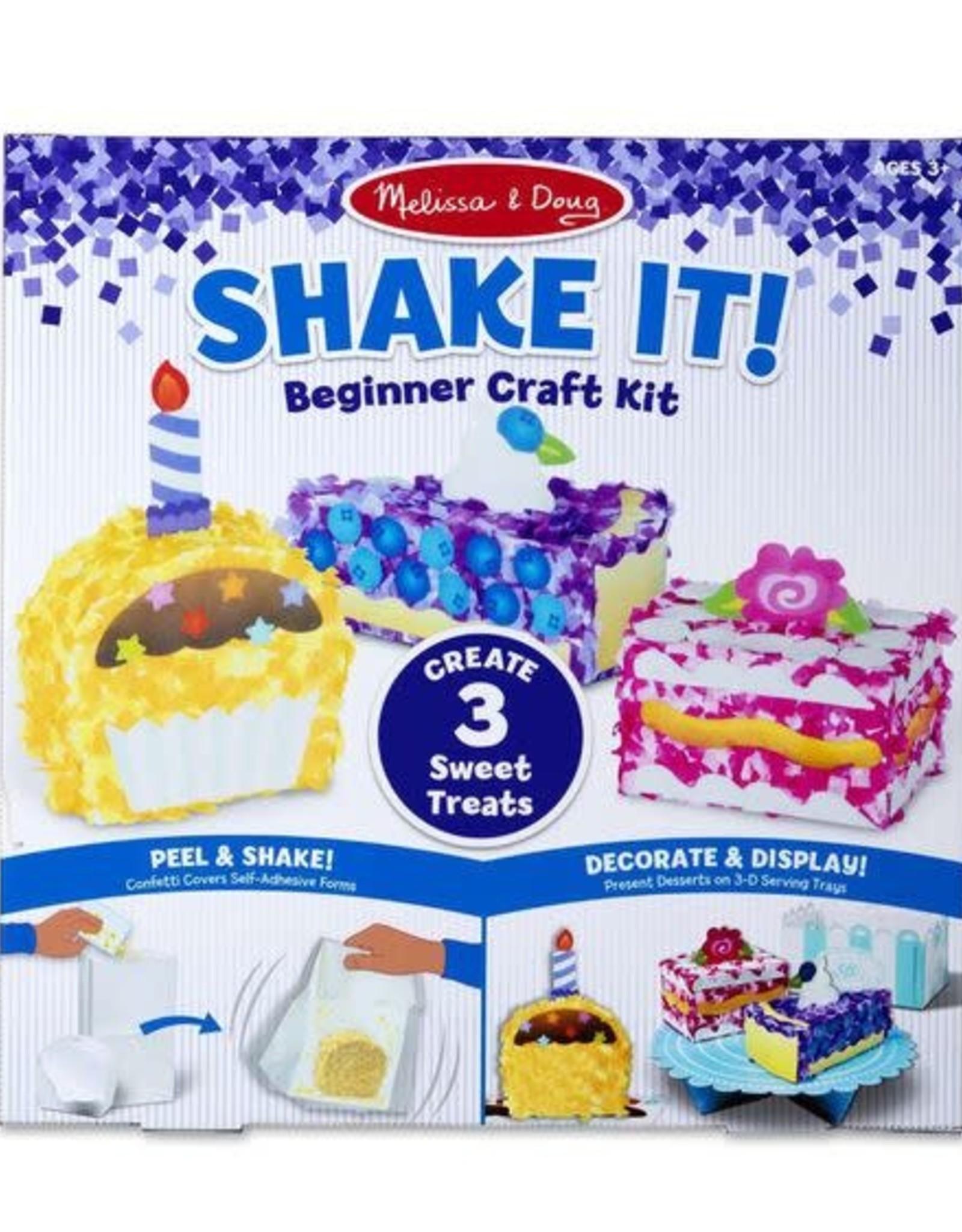 Melissa & Doug MD Shake It Craft Kit Treats