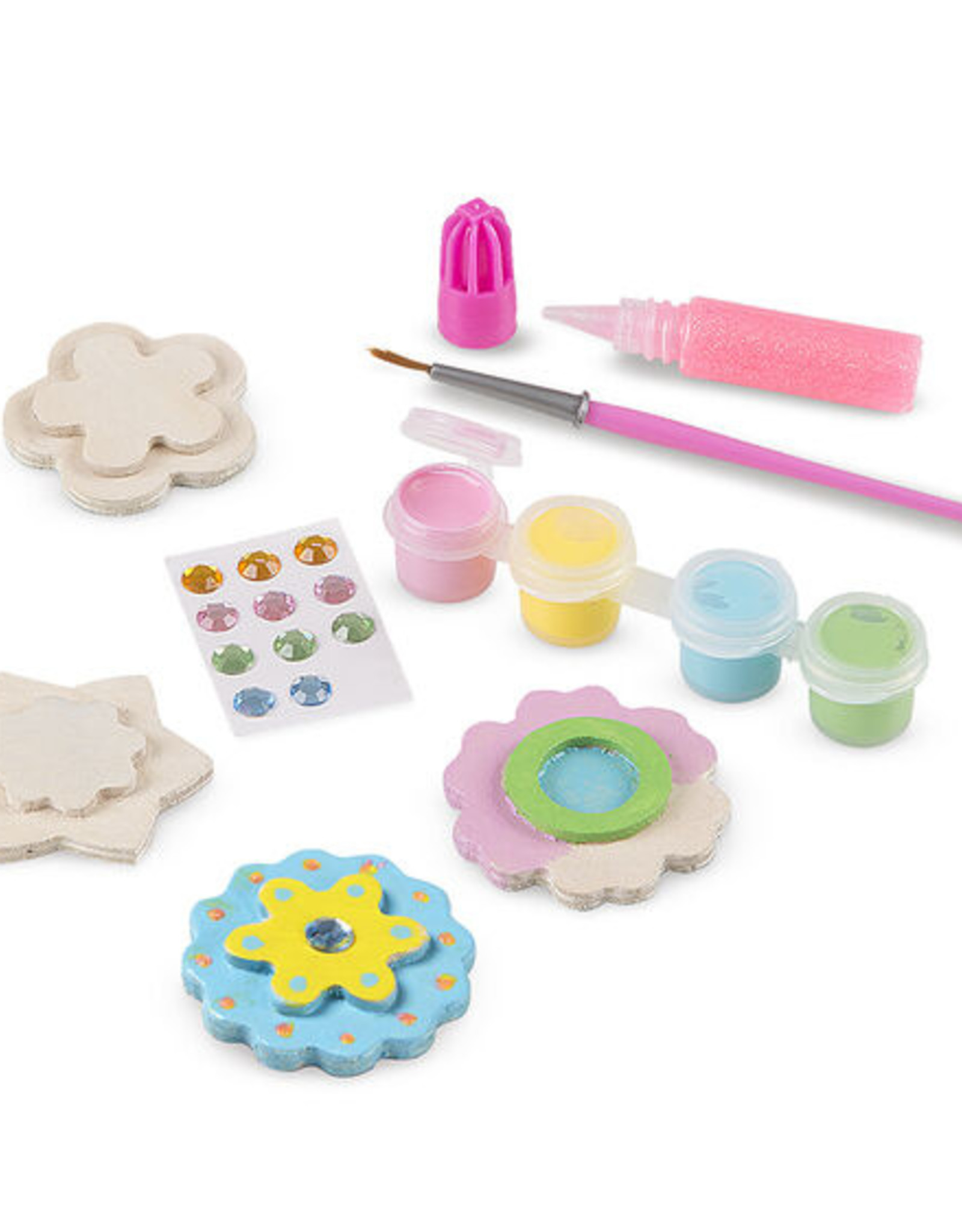 Melissa & Doug MD Paint Kit Flower Magnets