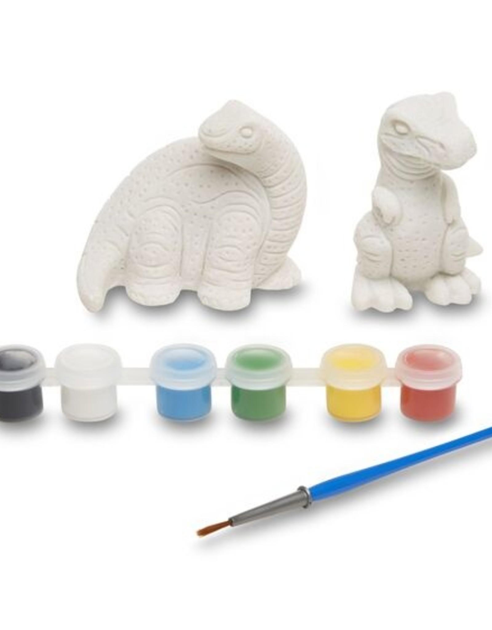 Melissa & Doug MD Paint Kit Dinosaur Figurines
