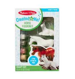Melissa & Doug MD Paint Kit Horse Figurines
