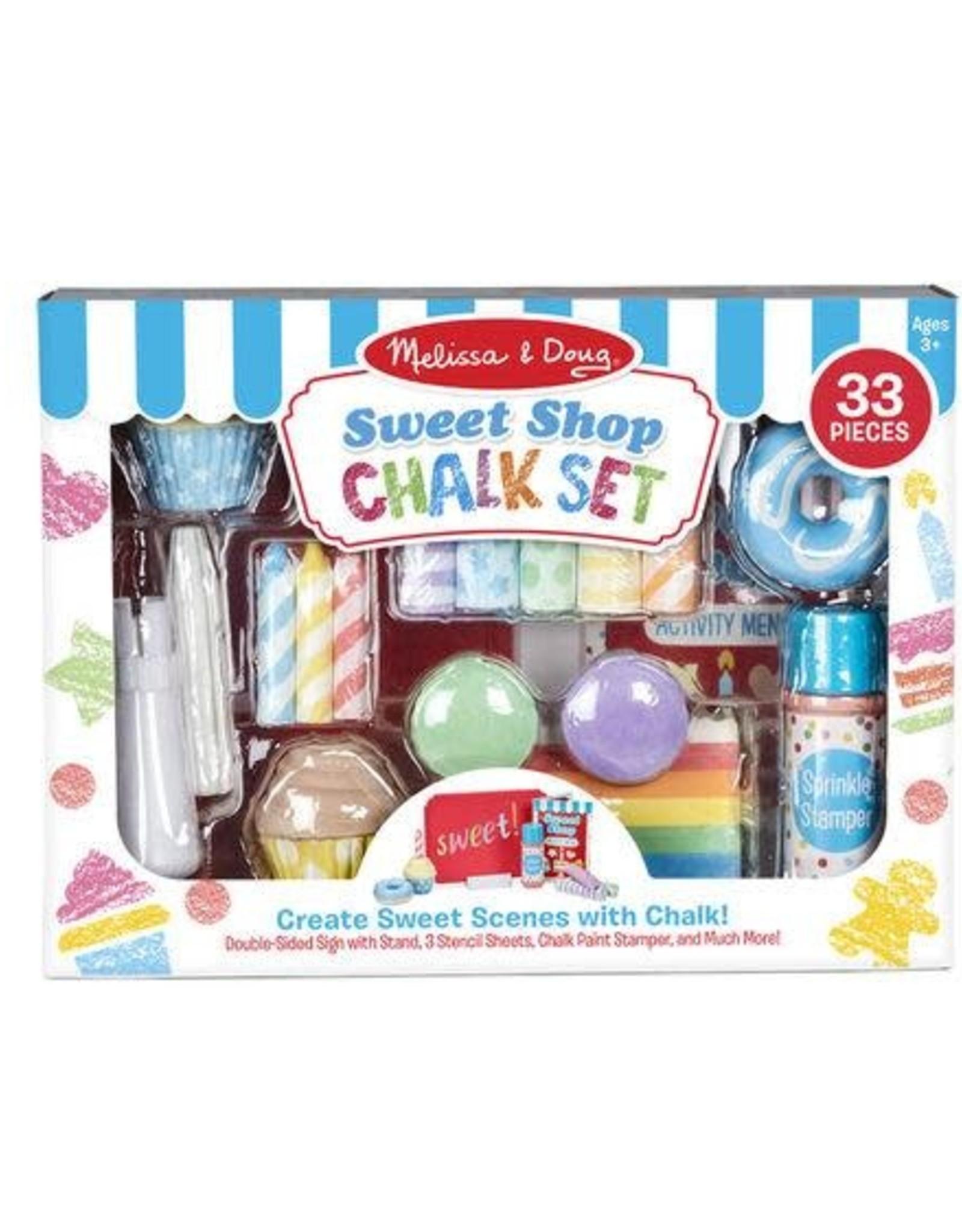 Melissa & Doug MD Chalk Set Sweet Shop