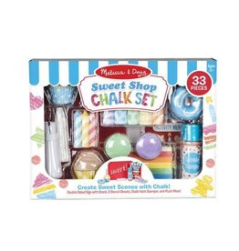 Melissa & Doug MD Chalk Set Sweet Shop