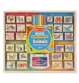 Melissa & Doug MD Stamp Set Animals Deluxe
