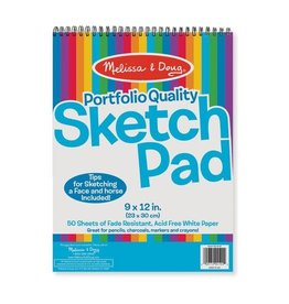 Melissa & Doug MD Sketch Pad 9x12