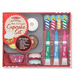 Melissa & Doug MD Bake & Decorate Cupcake Set