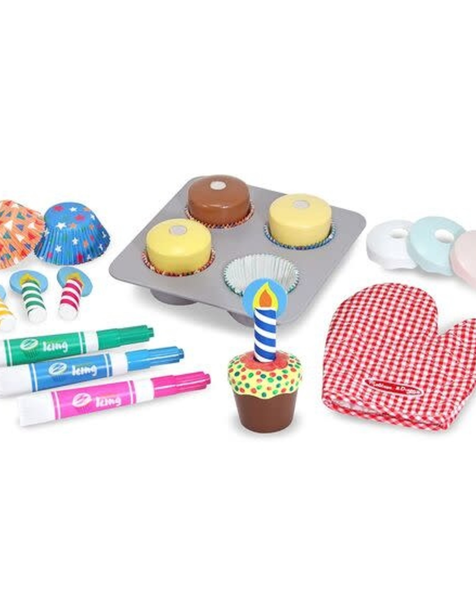 Melissa & Doug MD Bake & Decorate Cupcake Set