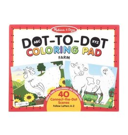 Melissa & Doug MD Coloring Pad Dot to Dot Farm