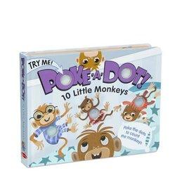 Melissa & Doug MD Poke a Dot Book 10 Monkeys