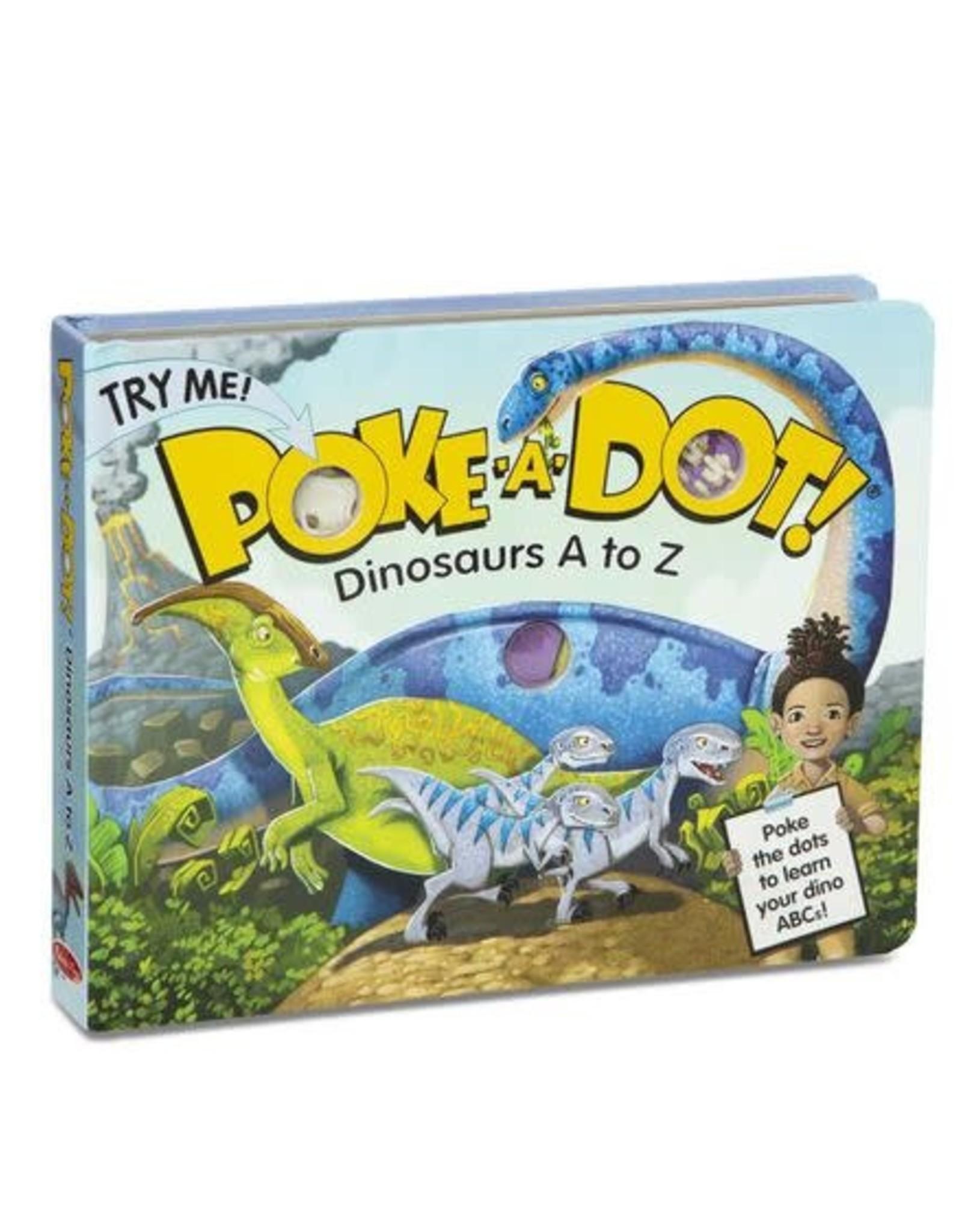Melissa & Doug MD Poke a Dot Book Dinosaur A - Z
