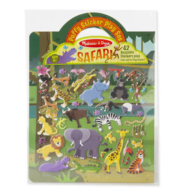 Melissa & Doug MD Puffy Stickers Safari