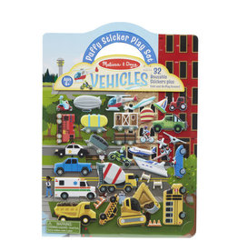 Melissa & Doug MD Puffy Stickers Vehicles