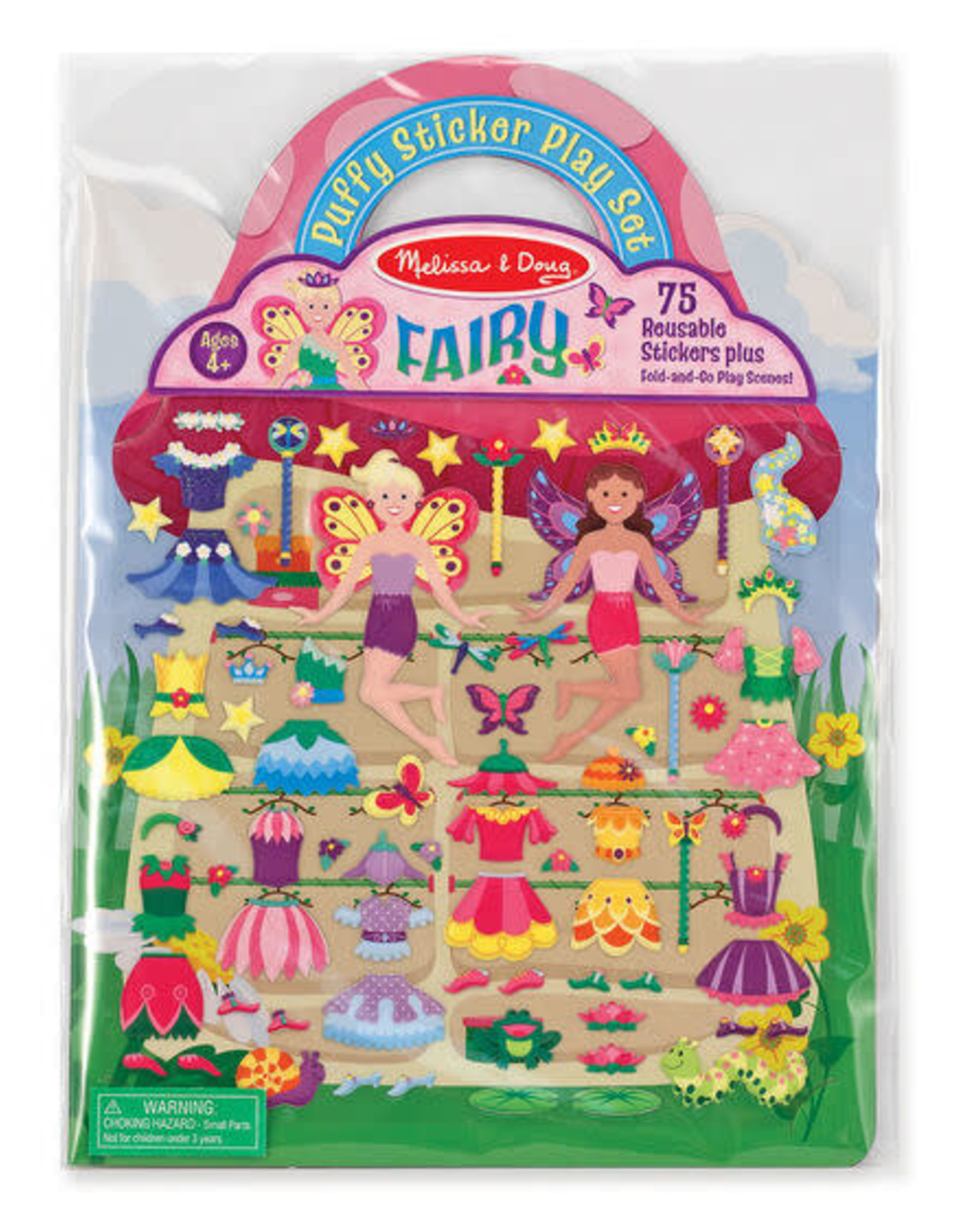 Melissa & Doug MD Puffy Stickers Fairy