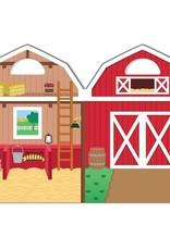 Melissa & Doug MD Puffy Stickers Farm