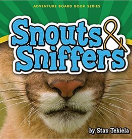 Snouts & Sniffers Board Book