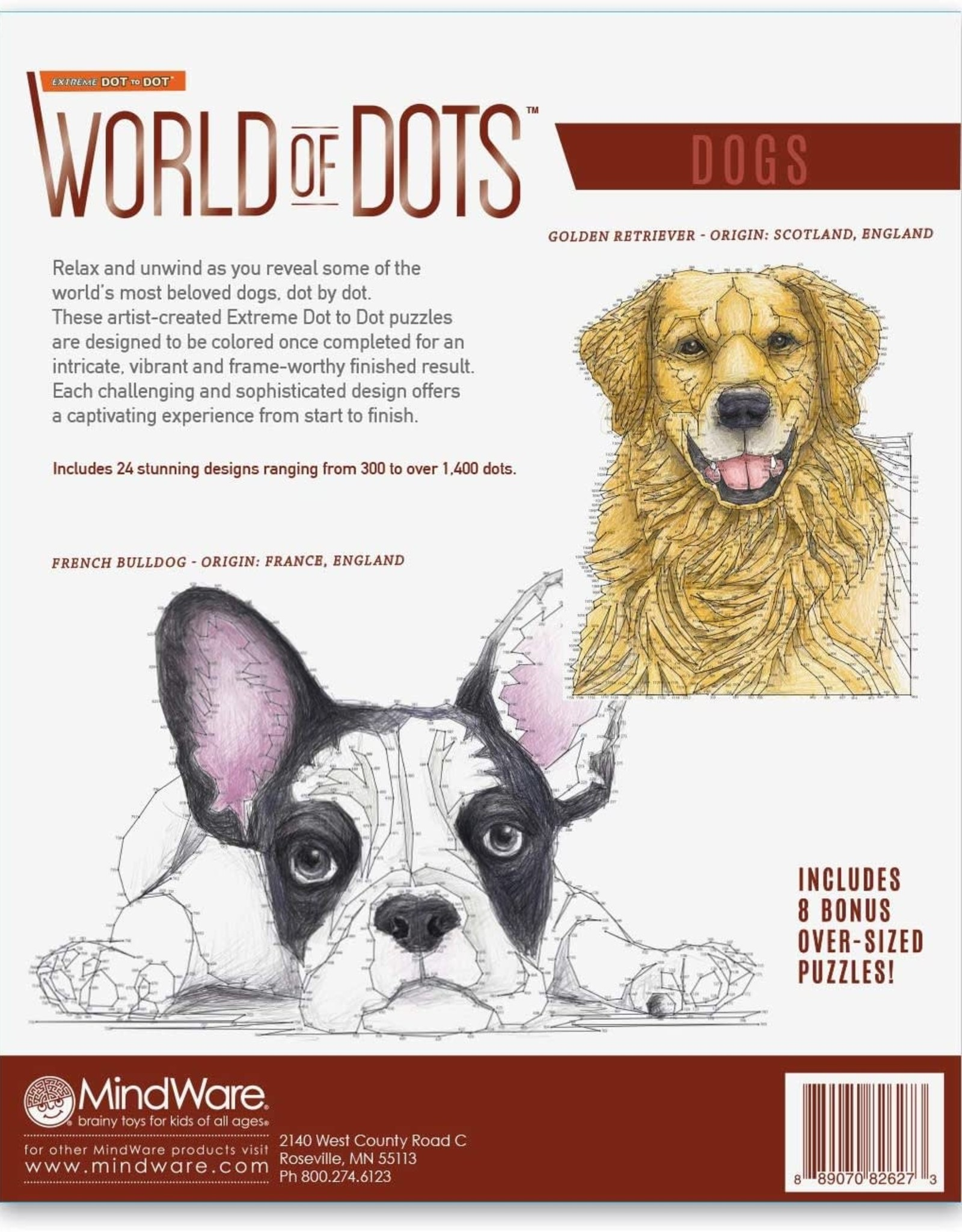 World of Dots Dogs