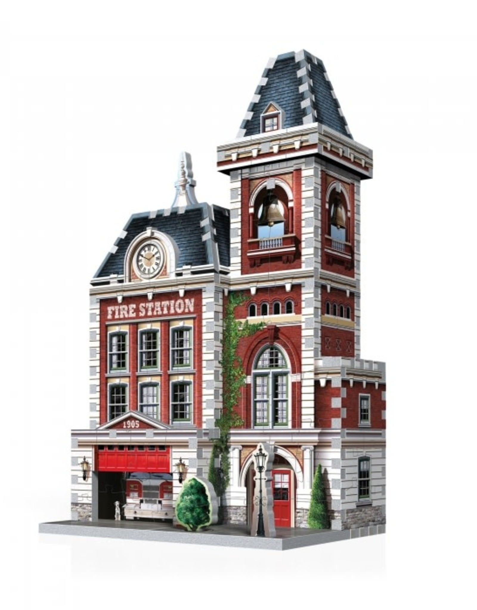 Wrebbit 3D Puzzle-Fire Station (Urbania Collection)