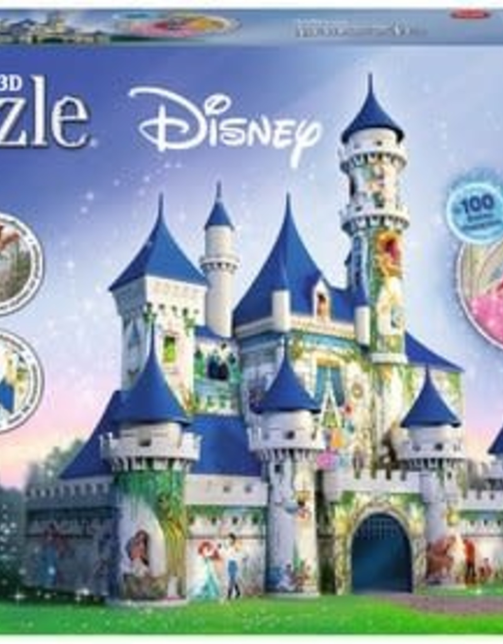 Ravensburger 216pc 3D Disney Castle