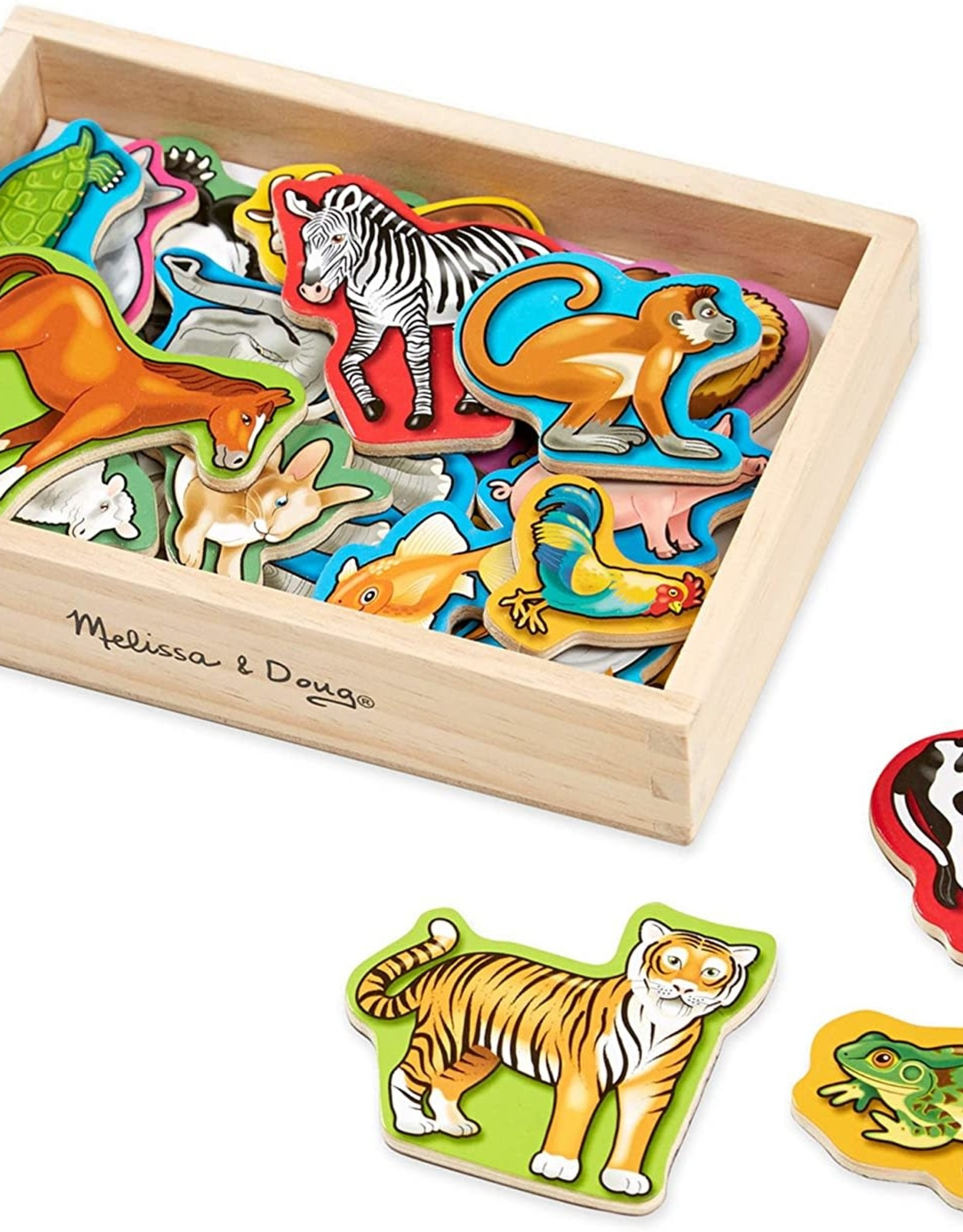 Melissa & Doug MD Wooden Magnets Animals