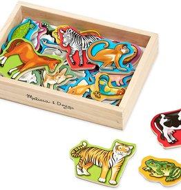 Melissa & Doug MD Wooden Magnets Animals