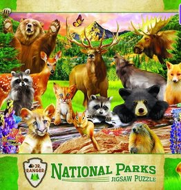 Master Pieces Wildlife National Parks 100pc