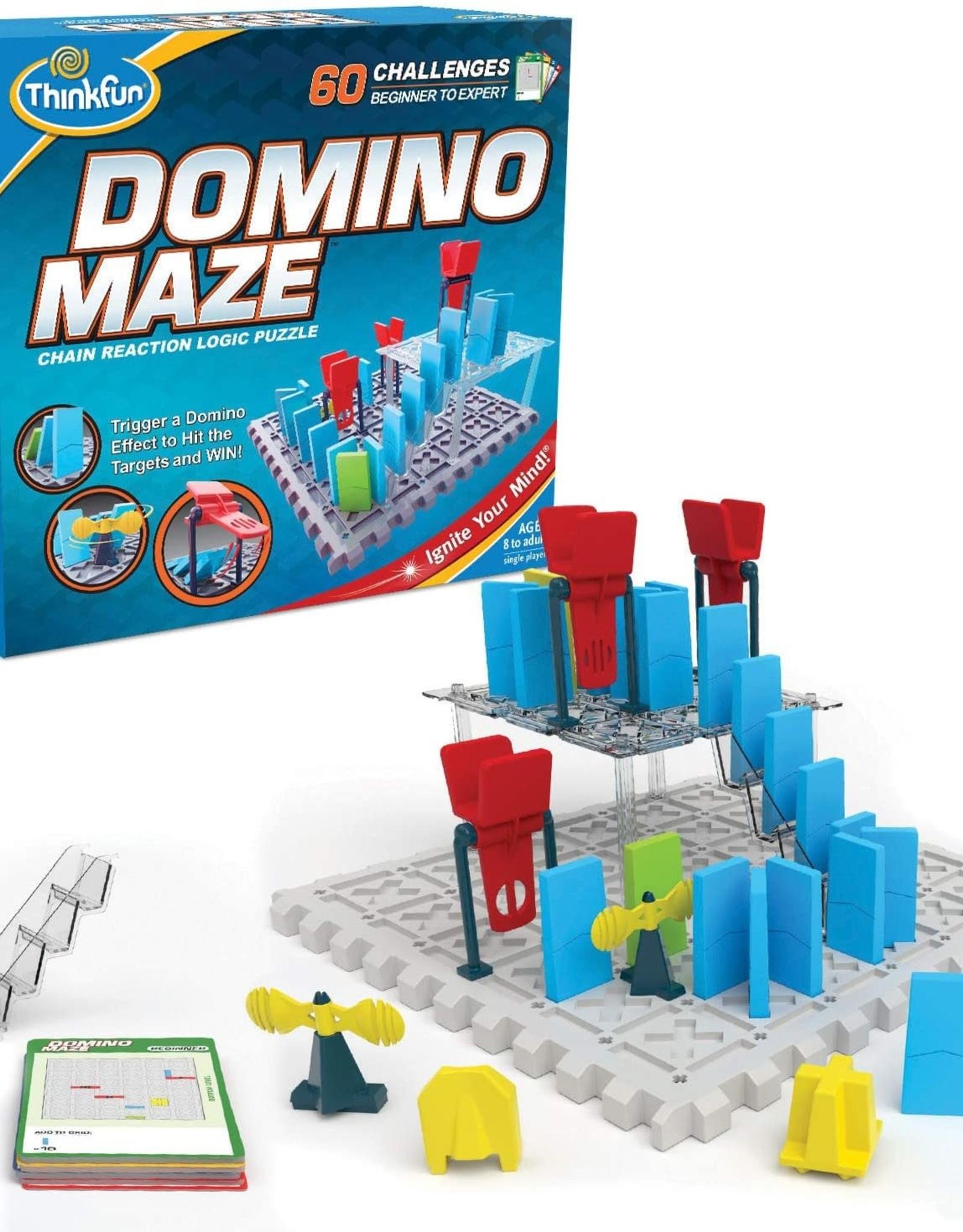 ThinkFun Domino Maze Game