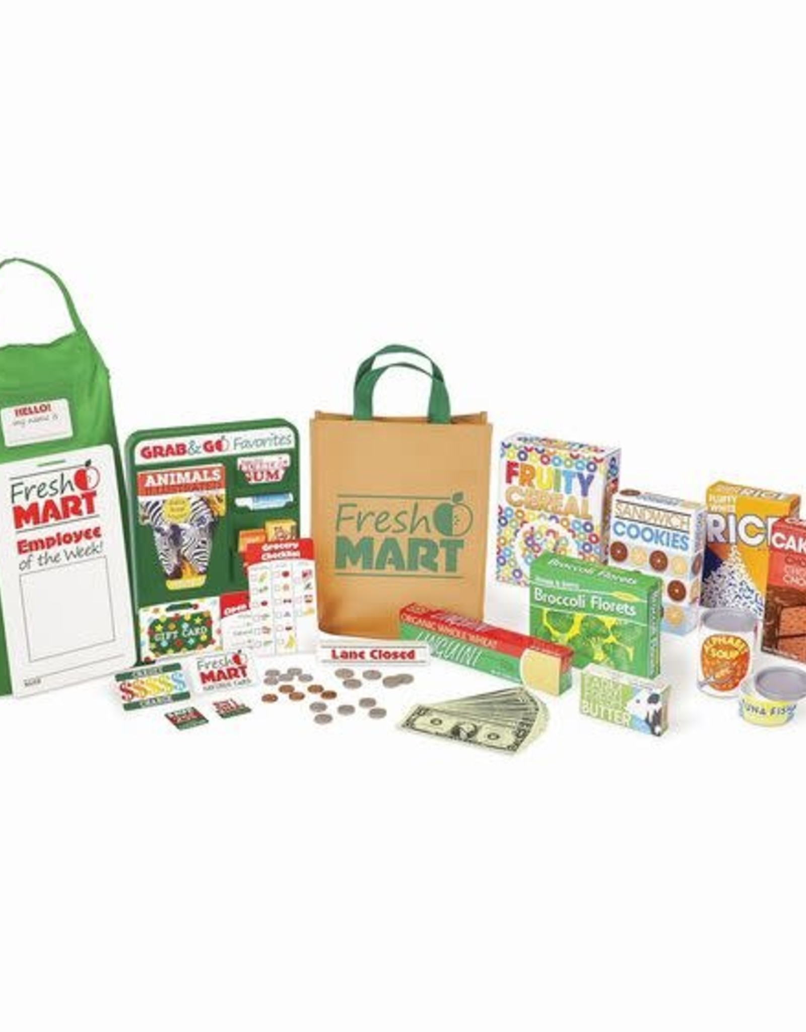 Melissa & Doug MD Fresh Mart Grocery Accessories