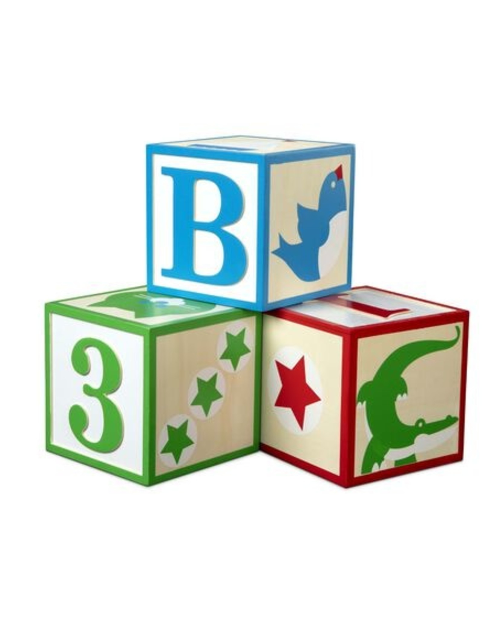 Melissa & Doug MD Jumbo Classic Blocks ABC