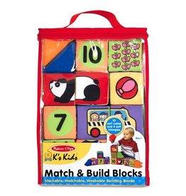 Melissa & Doug MD Match & Build Blocks