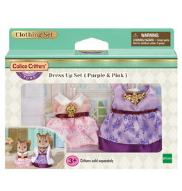 Calico Critters CC Dress Up Set Pink & Purple