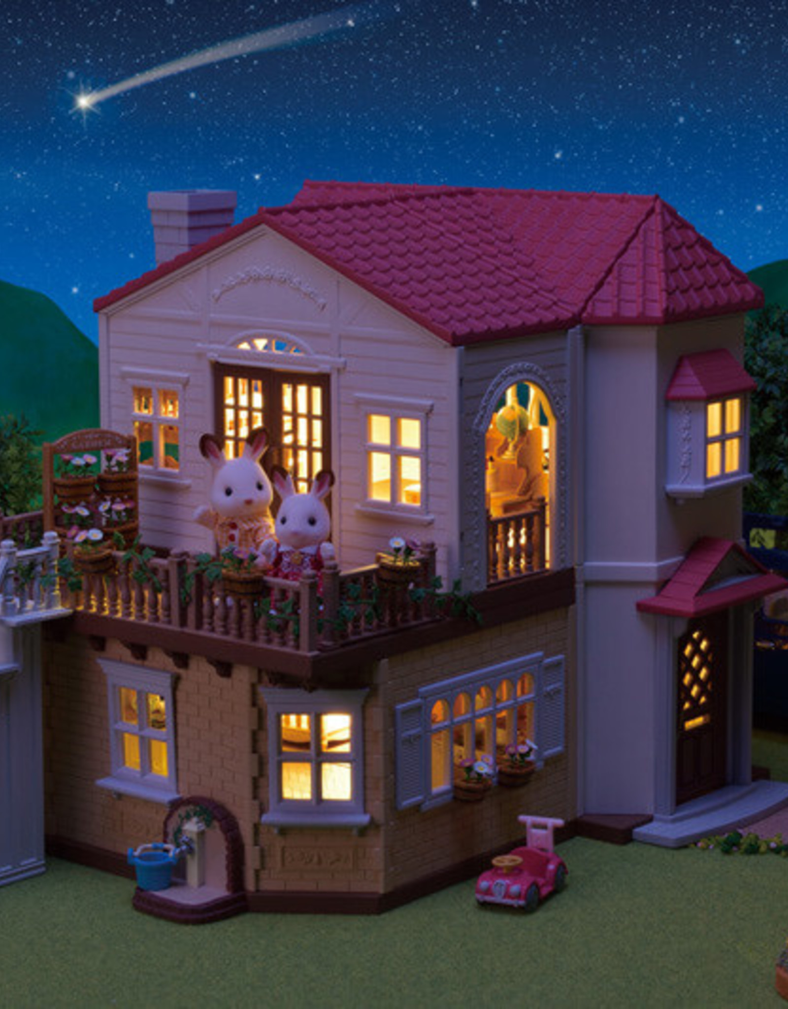 Calico Critters CC Red Roof Country Home