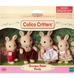 Calico Critters CC Sweetpea Rabbit Family