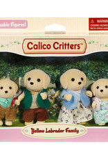Calico Critters CC Yellow Lab Dog Family