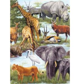 Springbok 60pc Animal Kingdom