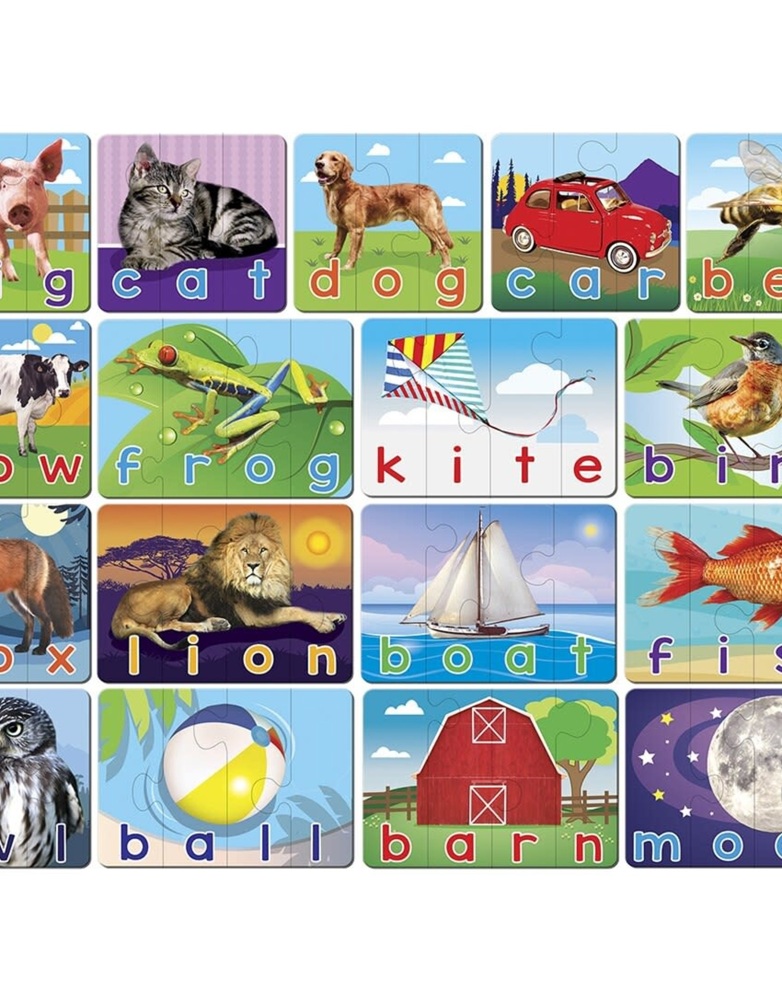 Master Pieces 60pc Spelling Matching Puzzles