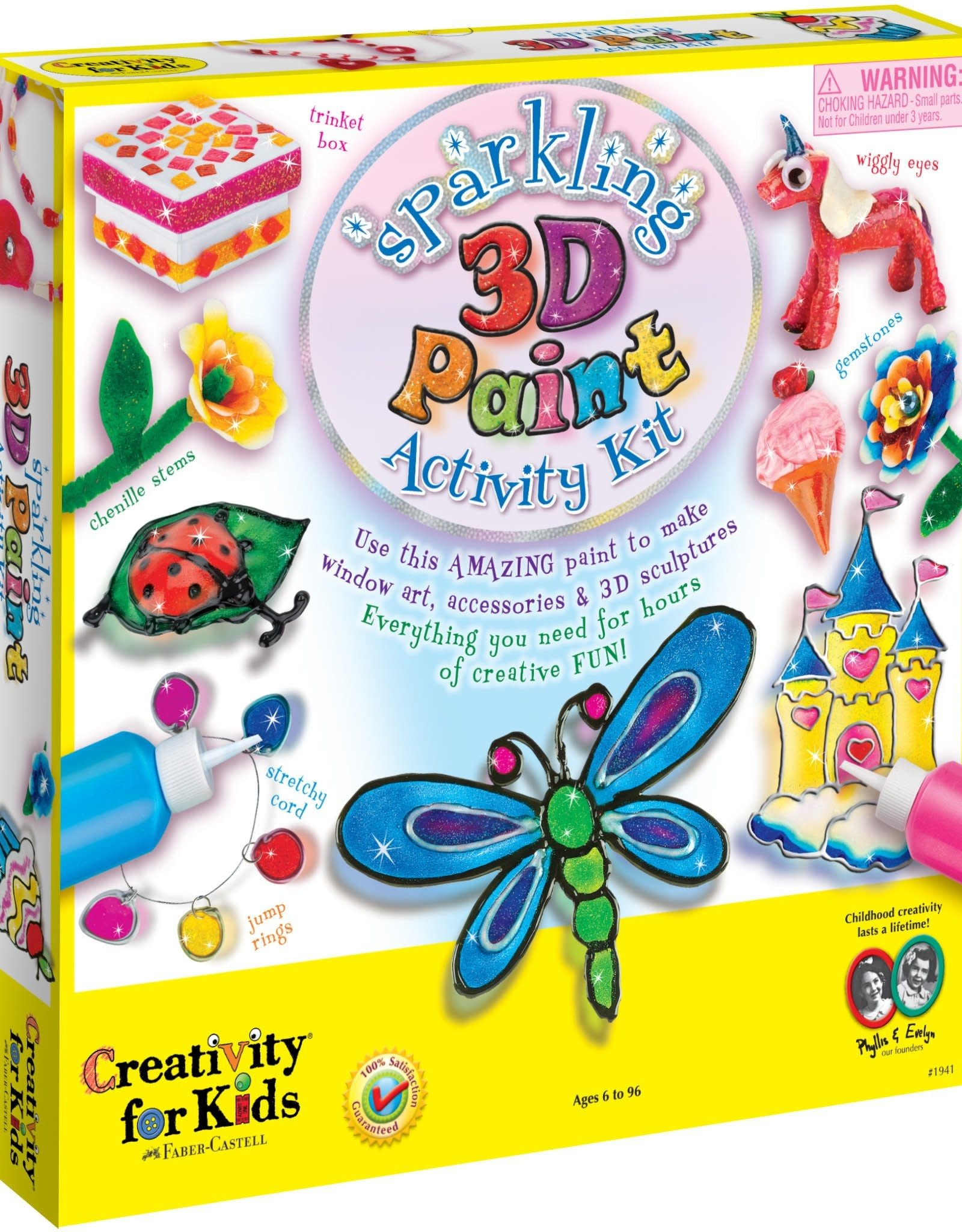 Faber-Castell 3D Paint Activity Kit