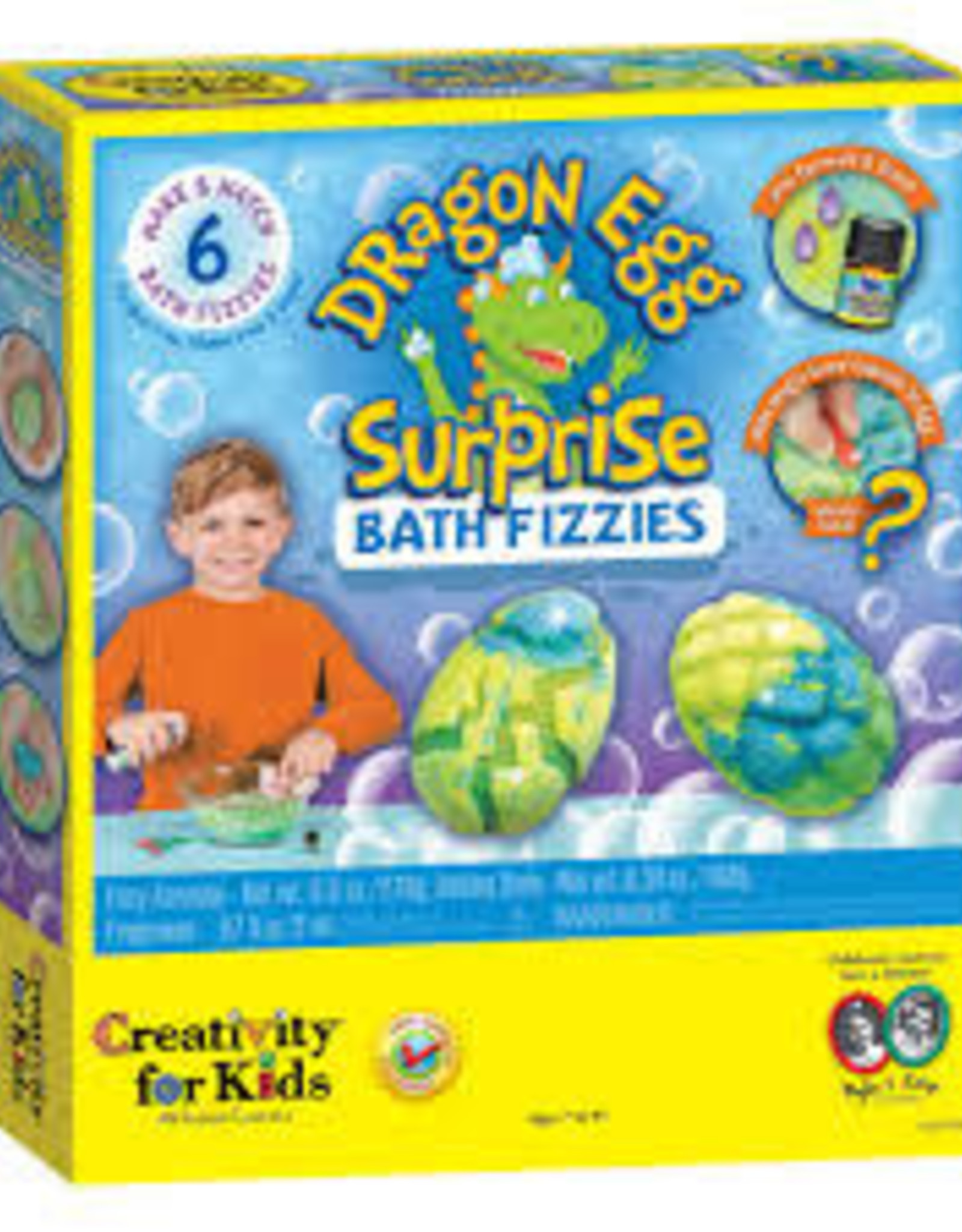 Faber-Castell Dragon Egg Bath Fizzies