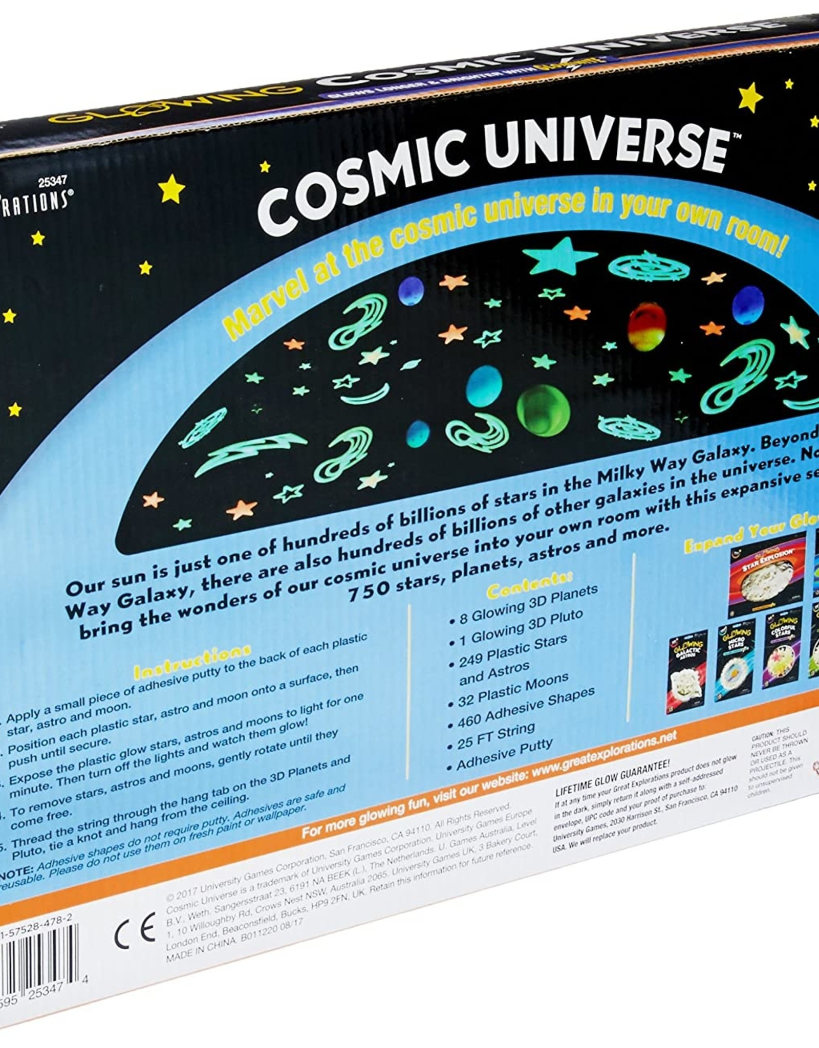 3-D Glowing Cosmic Universe