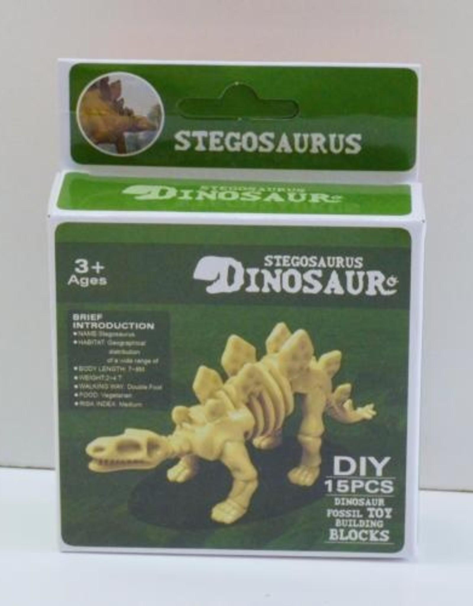 Dinosaur Fossil Building Set
